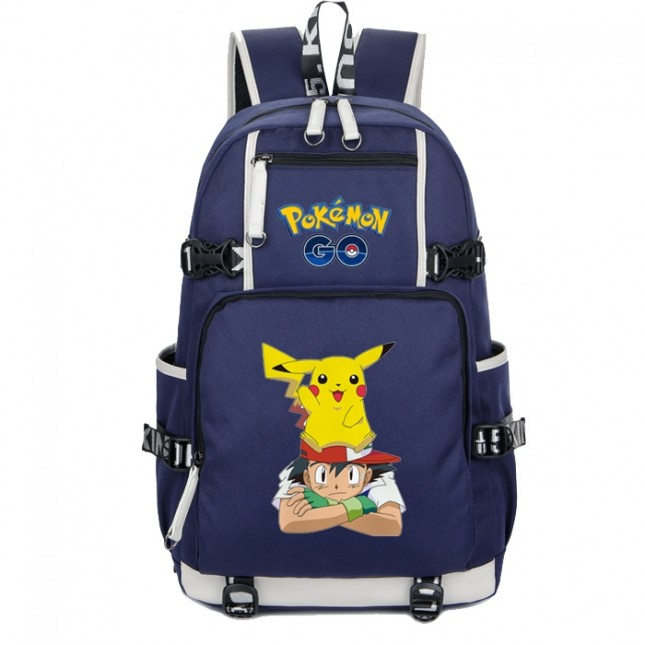 Pokemon Pikachu Backpack Schoolbag Bookbag Bag Pack Handbag Bookbag 2