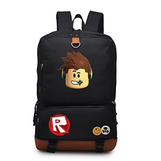 Roblox Backpack Kids Bookabg travel Shoulder Bag School Bags Unisex Handbag  Laptop