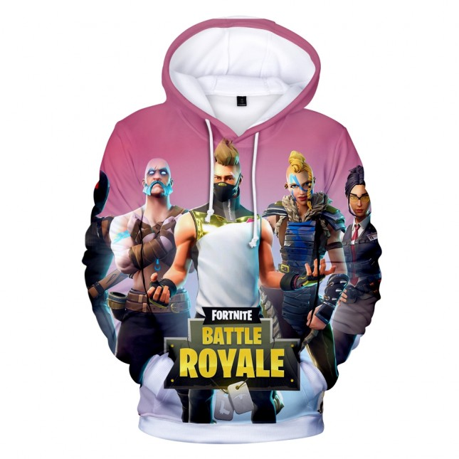 Fortnite 3D Print Hoodie Sweatshirt Game Surrounding Clothing Fashion Hip Hop