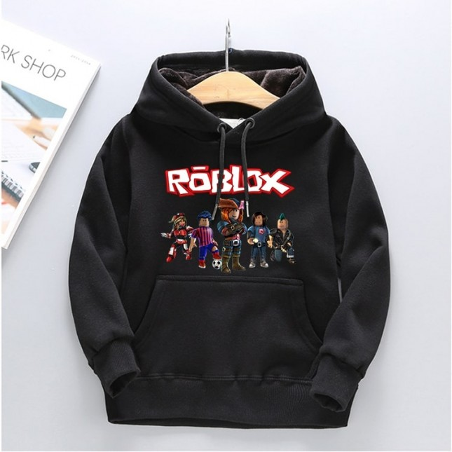 Kids Roblox Hoodies Fleece Sweatershirt