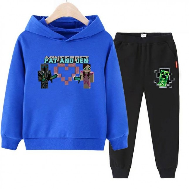 Minecraft boys Hoodies Cotton Sweatshirts 1