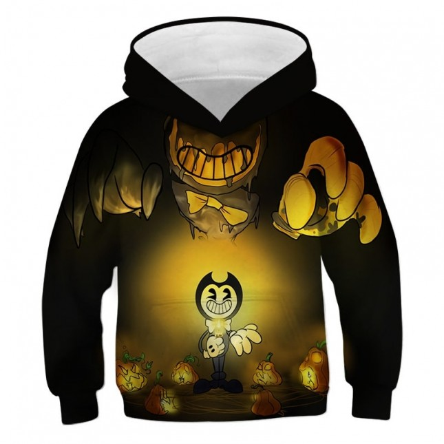 Bendy And The Ink Machine 3D Print Hoodie Sweatshirt Game Surrounding Clothing Fashion Hip Hop (More styles)