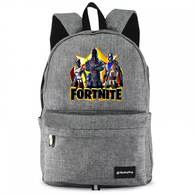 Fortnite Backpack Bookbag Travelbag Bag Handbag waterproof  with USB Charging Port 3