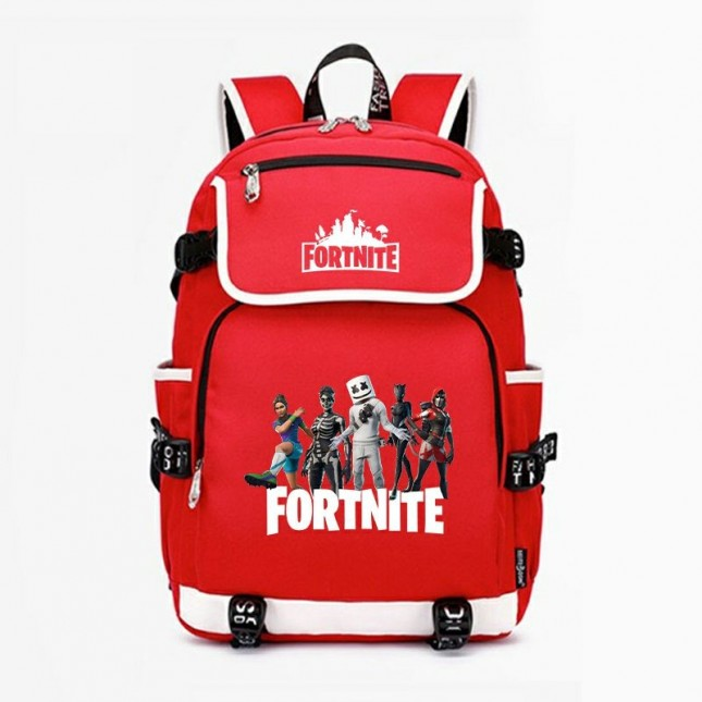 Fortnite Marshmello Backpack School Bag 600D Bookbag for Boys Kids