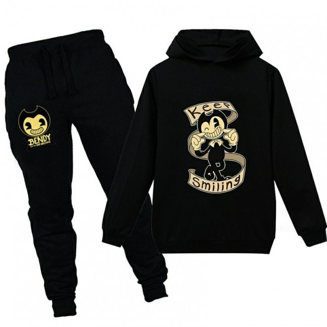 Bendy and the Ink Machine Kids Cool Hoodies For Boys Girls Hoodies Children Clothing