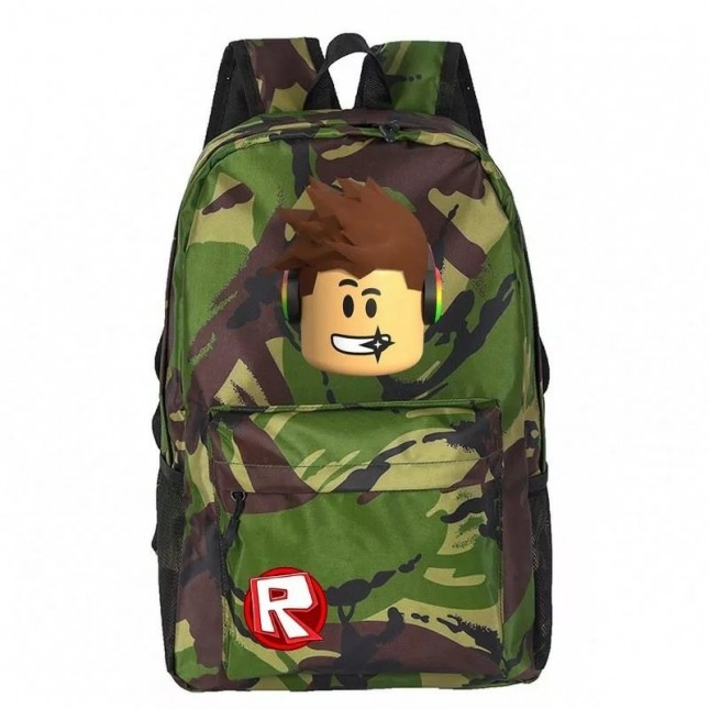 Roblox Backpacks Student School Bags Computer bag shoulder travel bag
