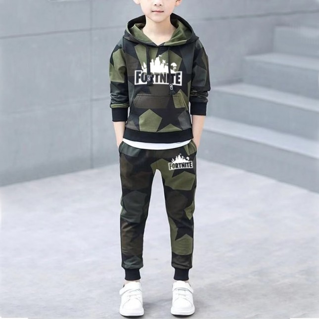 Fortnite Hoodie For Boys Girls Camouflage Sweatershirts