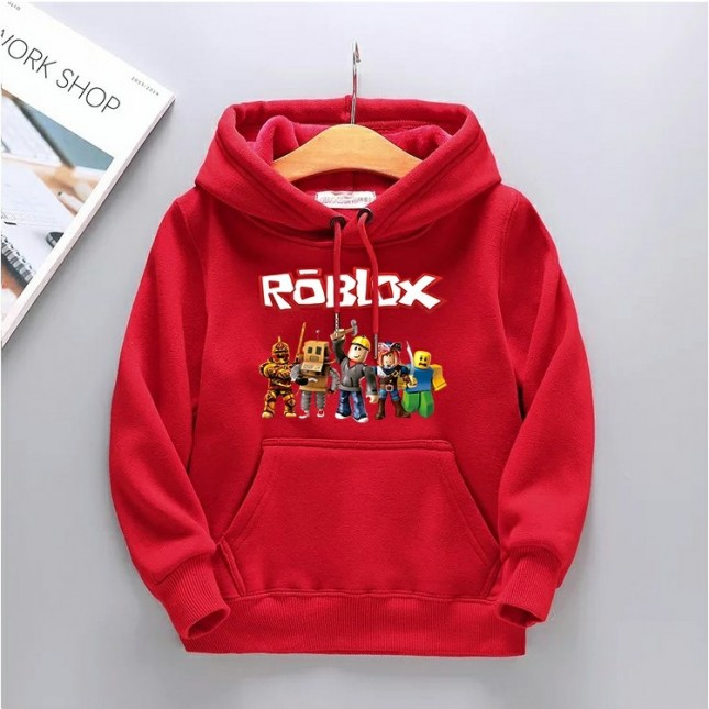 Kids Roblox Hoodies Fleece Sweatershirt 4