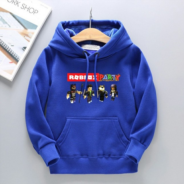 Kids Roblox Hoodies Fleece Sweatershirt 2