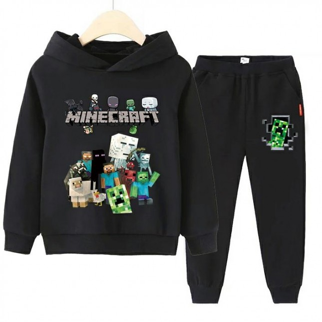 Minecraft Kids Hoodies Cotton Sweatshirts