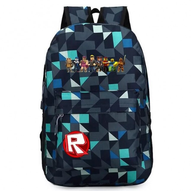 Roblox Backpack for School Bookbag Schoolbags Kids Boys Girls Bags