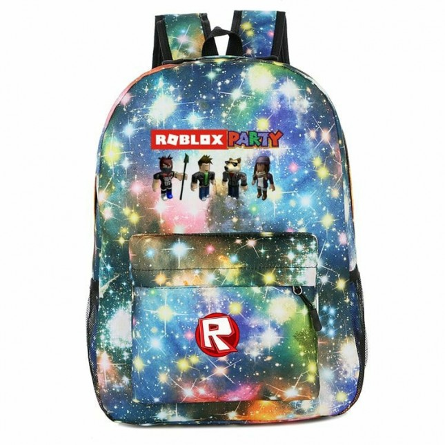 Roblox Backpack for School Kids Boys Girls Bags Bookabgs