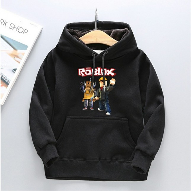 Kids Roblox Hoodies Fleece Sweatershirt 5
