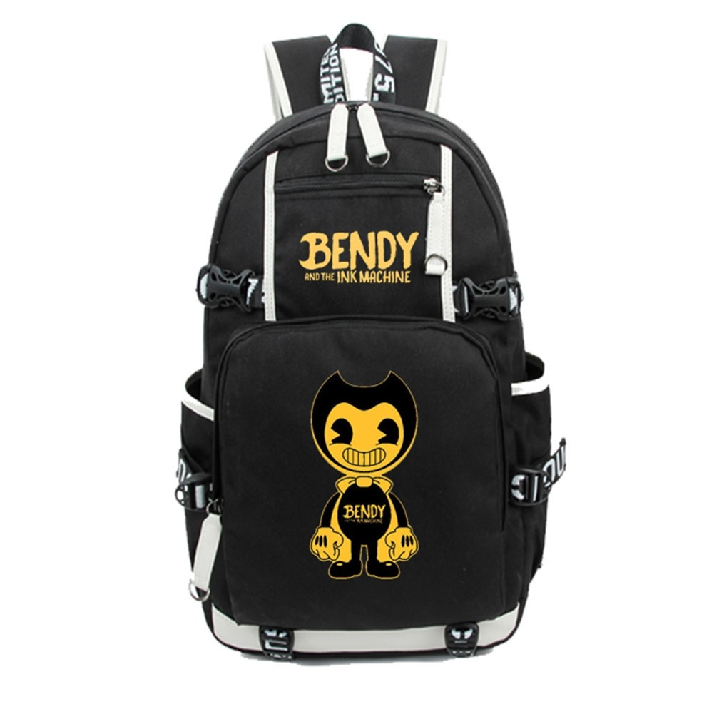 71659f634689 Bendy and the Ink Machine Backpack School Bags Student travel Shoulder Bag  Unisex Daypack 2