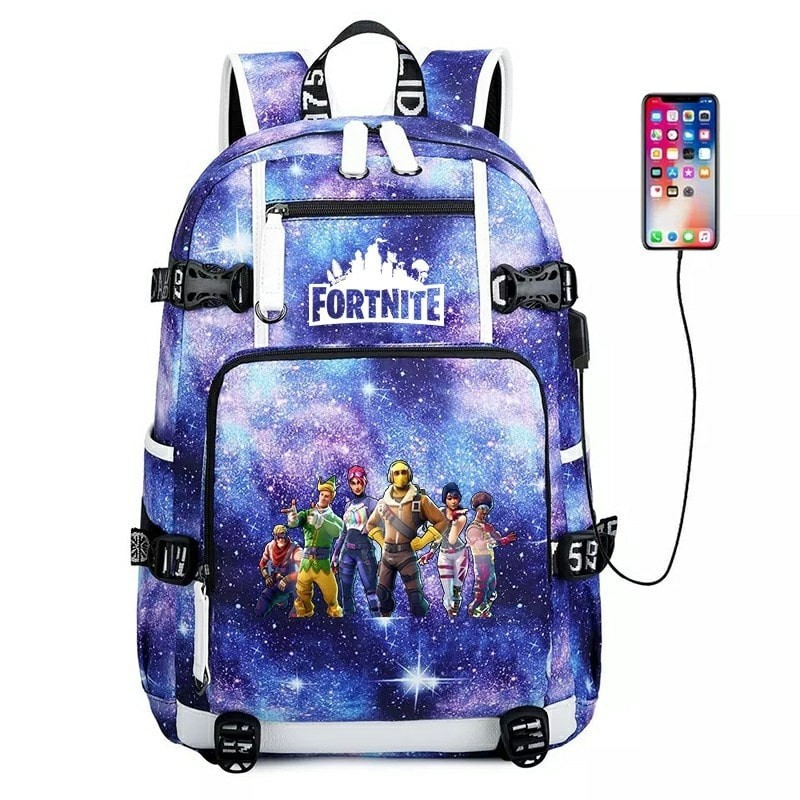 Fortnite Backpack School Bag Bookbag for Men Boys Kids Children NEW 10
