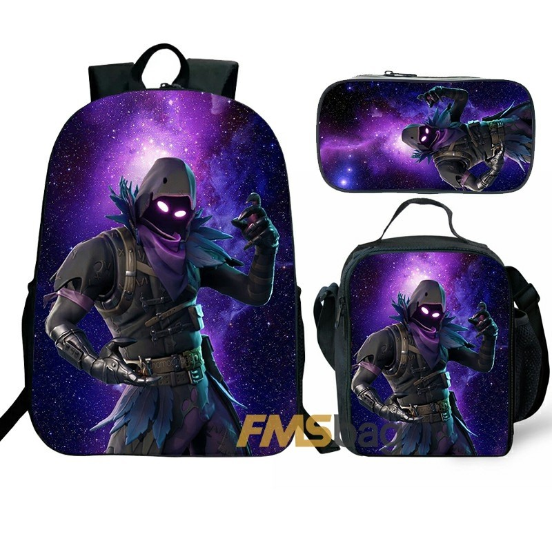 Fortnite Backpack/Lunch box/Shoulder bag/Pencil case Super Value Preferential Set