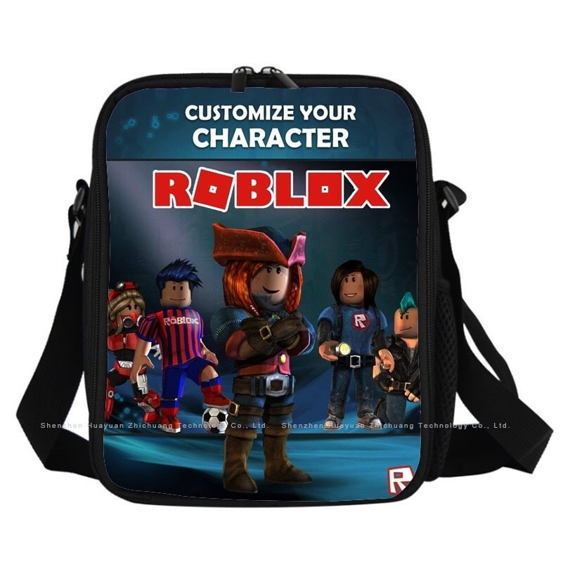 Roblox Lunch Box Waterproof Insulated Lunch Bag Portable Lunchbox for School Travel Office