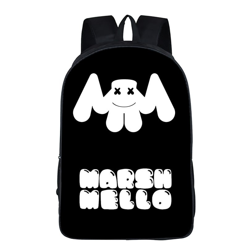 Marshmello School Backpack Tourist Shoulder Bags Hot Sell in the 1