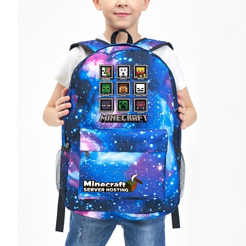 Minecraft Backpack School backpack Bookbag NEW