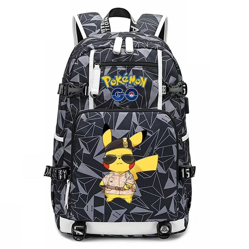 Pokemon Pikachu Backpack Schoolbag Bookbag Bag Pack Handbag Bookbag