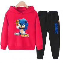 Sonic The Hedgehog kids Hoodies Cotton Sweatshirts 2