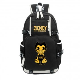 Bendy and the Ink Machine  Backpack School Bags Student travel Shoulder Bag Unisex Daypack 2