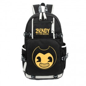 Bendy and the Ink Machine  Backpack School Bags Student travel Shoulder Bag Unisex Daypack