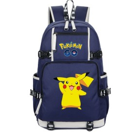 Pokemon Pikachu Backpack Schoolbag Bookbag Bag Pack Handbag Bookbag 8