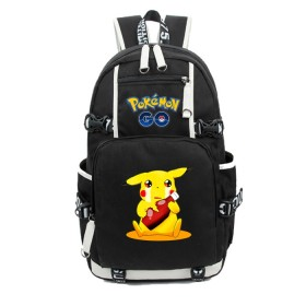 Pokemon Pikachu Backpack Schoolbag Bookbag Bag Pack Handbag Bookbag 3