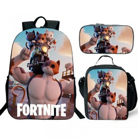 Fortnite Backpack/Lunch box/Shoulder bag/Pencil case Super Value Preferential Set 1