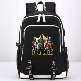 Fortnite Backpack School Bag Bookbag with USB Charging Port New 1
