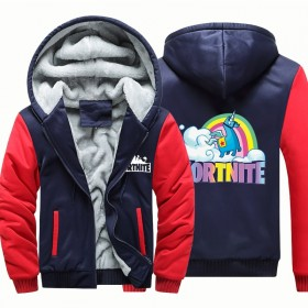 Fortnite Hoodies Sweatshirts Thick Fleece Camouflage Jackets Clothes Zipup Coats 5