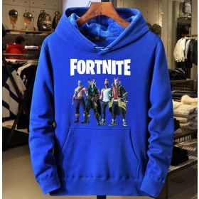 Fortnite fleece hoodie sweatshirt 100% Cotton(4 color)
