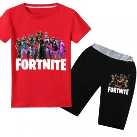 Fortnite T-Shirt Kids Cotton Shirt Funny Youth Tee 11