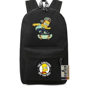 Simpson Backpack Schoolbag Travelbag  Bookbag Handbag