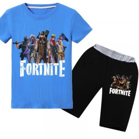 Fortnite T-Shirt Kids Cotton Shirt Funny Youth Tee 3