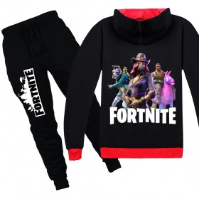 Fortnite Kids Cotton Zip Hoodies Boys Girls Sweatshirts Clothing Jacket 6