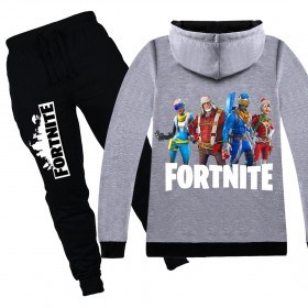 Fortnite Kids Cotton Zip Hoodies Boys Girls Sweatshirts Clothing Jacket 5