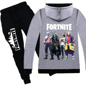 Fortnite Kids Cotton Zip Hoodies Boys Girls Sweatshirts Clothing Jacket 2