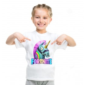 Fortnite T-Shirt Kids Cotton Shirt Funny Youth Tee 5