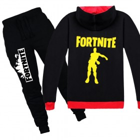 Fortnite Kids Cotton Zip Hoodies Boys Girls Sweatshirts Clothing Jacket 9