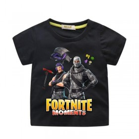 Fortnite T-Shirt Kids Cotton Shirt Funny Youth Tee 4