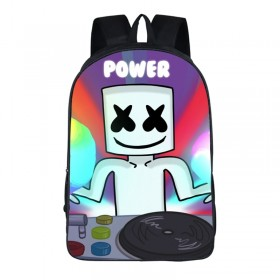 Marshmello School Backpack Tourist Shoulder Bags Hot Sell in the