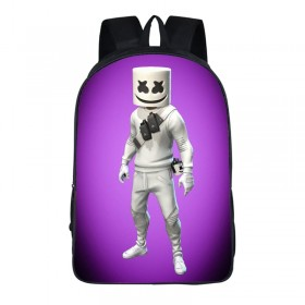 Marshmello School Backpack Tourist Shoulder Bags Hot Sell in the 2