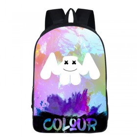 Marshmello School Backpack Tourist Shoulder Bags Hot Sell in the 3