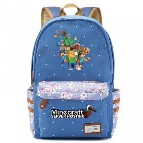 Minecraft Backpack bookbag School bag New 3