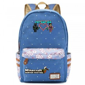 Minecraft Backpack bookbag School bag New 5