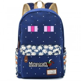 Minecraft Backpack bookbag School bag New 4
