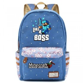 Minecraft Backpack bookbag School bag New 2