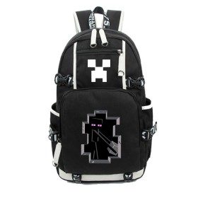 Minecraft Daypack Enderman School Backpack